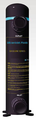 Baseline Series ultraviolet system for smaller pools and spas
