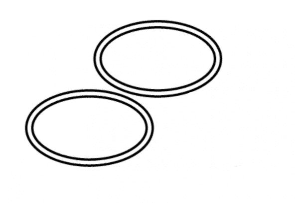 DEL UV-C50 Quartz Tube O-ring